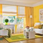 гостинная с балконом