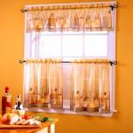 окно кухни с раскладкой