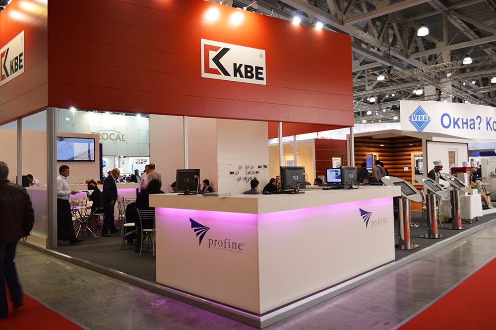 Выставочный павильон торговой марки KBE, МОСБИЛД 2013