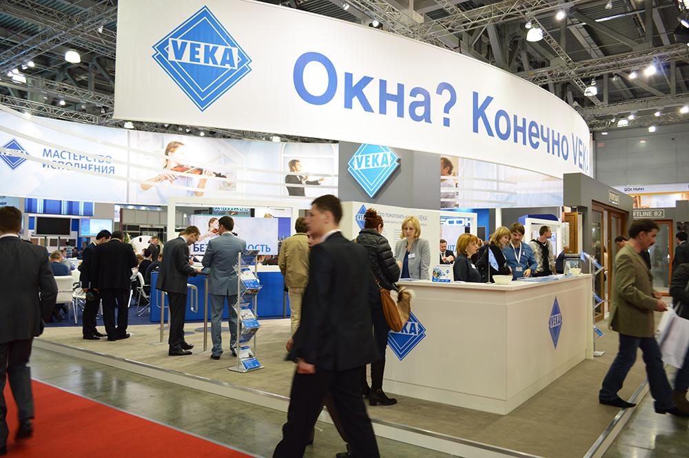 Выставочный павильон торговой марки VEKA, МОСБИЛД 2013