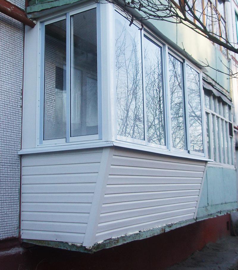 Балкон с выносом тип-2