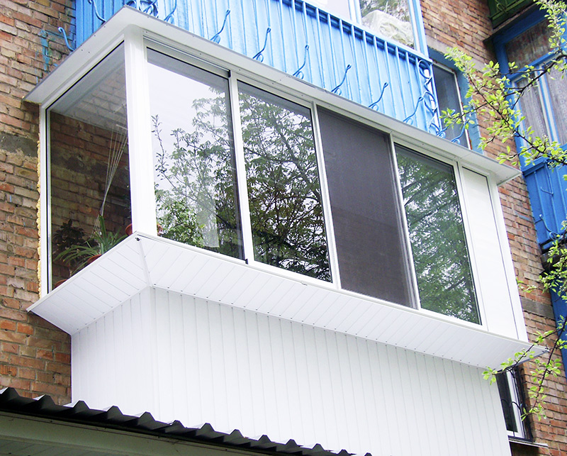 Остекление балконов окна-71 пластиковые окна в туле и област.