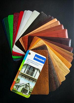 подбор цвета окна в нашем Центре заказов
