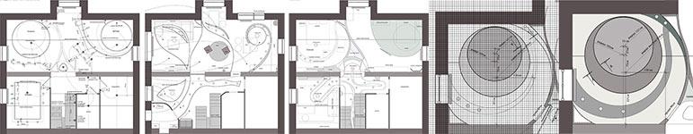 чертежи многоуровневых потолков